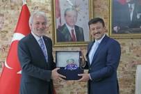 HAMZA DAĞ - Genel Başkan Yardımcısı Hamza Dağ, Başkan Kamil Saraçoğlu'nu Ziyaret Etti