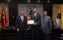 DEKORASYON - Irak Büyükelçisi Ve Başkonsolosu GSO'yu Ziyaret Etti