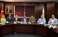 MEHMET TATAR - Irak Büyükelçisi Ve Başkonsolosu'ndan GTO'ya Ziyaret