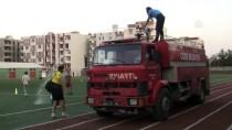 CİZRESPOR - İtfaiyeden Futbolculara Destek
