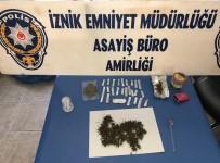 İznik'te Uyuşturucu Operasyonu Açıklaması 8 Gözaltı
