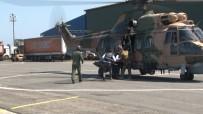 DAĞCI GRUBU - Kaçkarlar'a Tırmanırken Yuvarlanan Kayanın Çarpması Sonucu Yaralanan Doktor Askeri Helikopterle Kurtarıldı