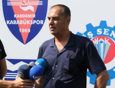 Karabükspor'da şok istifa