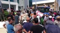 ÇEVİK KUVVET POLİSİ - KKTC'de Besicilerden Protesto