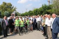Köy Yoluna 6 Km Bisiklet Yolu