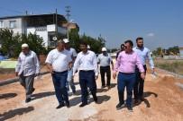 KALDIRIM ÇALIŞMASI - Kuşlubahçe İle Spil Mahallelerinin 25 Yıllık Yol Sorunu Çözüldü