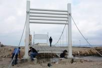 Lapseki'de 'Beybaşlı Halil Ve İbrahim Onbaşı' Köprüsü Çalışmaları