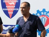 KARABÜKSPOR - Lisansların Çıkmadığı Karabükspor'da Teknik Direktör Yılmaz İstifa Etti