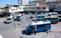 AÇIK CEZAEVİ - Minibüs Duraklarında Yapılan Düzenleme Çalışmaları Tamamlandı