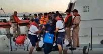 Ölüme yolculuk yapan 32 göçmen böyle yakalandı