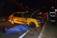 TİCARİ TAKSİ - Ordu'da Trafik Kazası Açıklaması 1 Ölü