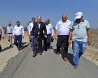 YOL YAPIMI - Osmaniye'de Silindirle Sıkıştırılmış Beton Yol Çalışması