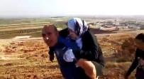 Polis Yaralı Suriyeli Kadını Sırtında 2 Kilometre Taşıdı