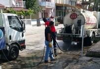 Sakin Şehir Unvanlı Eğirdir'de Dezenfeksiyon Savaşı Başlatıldı