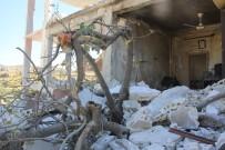 REJIM - Saldırıların Ardından İdlib'de Büyük Yıkım
