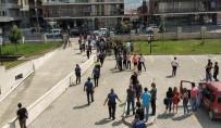ARBEDE - Samsun Adliyesinde Duruşma Çıkışı Arbede