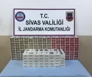 SİGARA KAÇAKÇILIĞI - Sivas'ta 4 Bin 796 Paket Kaçak Sigara Yakalandı