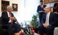DIŞİŞLERİ KOMİSYONU - TBMM Dışişleri Komisyonu Başkanı Bozkır, ABD Maslahatgüzarı Hovenier İle Görüştü