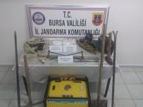 Uludağ'da İzinsiz Kazı Yapanlara Jandarma Baskını
