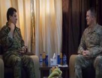 ABD'li General, 4 milyon TL ödülle aranan YPG'li terörist ile görüştü