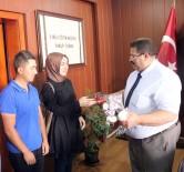 Aday Öğretmenlerden Milli Eğitim Müdürü Turan'a Ziyaret