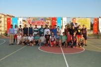 AKŞEHİR BELEDİYESİ - Akşehir'de Geleneksel Sokak Basketbolu Heyecanı Başladı
