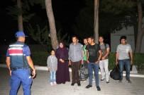 Ayvalık'ta 10 Göçmen Jandarmadan Kaçamadı