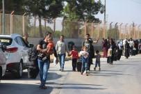 Bayram İçin Ülkesine Giden 3 Bin Suriyeli Döndü
