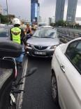 EDIRNEKAPı - E-5 Karayolunda Dehşet Saçarak Motosikletlere Çarpan Maganda Böyle Yakalandı