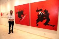 RESİM SANATI - Habip Aydoğdu İle 'Kırmızı Yolculuk' Sergisi