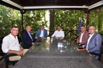 RAMAZAN YıLDıRıM - Karayolları Bölge Müdürü Çolak, Başkan Can İle Bir Araya Geldi