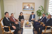 Kore Cumhuriyeti İstanbul Başkonsolosu Keewon Hong'dan Valiliğe Ziyaret