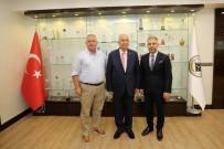 LOKMAN ERTÜRK - Lokman Ertürk'den Başkan Fethi Yaşar'a Taziye Ziyareti