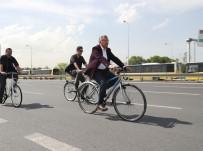 MAKAM ARACI - Makam Aracını Terk Eden Başkanlar Bisiklet Turunda Buluşuyor