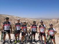 ALI ACAR - Marmaris'in İlk Yol Bisikleti Takımı Kapadokya'da Yarıştı