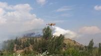 Osmaniye'deki Orman Yangınını Söndürme Çalışmaları Sürüyor