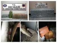 KAÇAK MAZOT - Van'da Kaçak Sigara Ve Akaryakıt Operasyonu