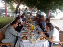 YZO'dan Yüreğir Kaymakamı Genel'e Veda Kahvaltısı