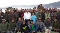 Afyonkarahisar'da Sportif Sazan Balığı Yakalama Yarışması Başladı