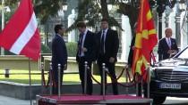 MAKEDONYA CUMHURİYETİ - Avusturya Başbakanı Kurz Makedonya'da