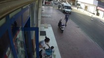 MUHABBET KUŞU - Bisiklet Hırsızlığı Güvenlik Kamerasında