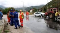 Bolu'da Trafik Kazası Açıklaması 5 Yaralı