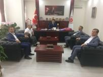 BAŞSAVCı - Borsa Yönetiminden Başsavcı Ağca'ya Ziyaret