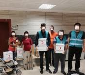 GIDA YARDIMI - Denetimli Serbestlik Yükümlülerine Gıda Yardımı Yapıldı