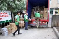 Diyarbakır'dan Suriye'ye 152 Koli Yardım Gönderildi