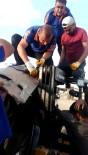 Elini Forklifte Sıkıştıran İşçiyi AFAD Ekipleri Kurtardı