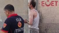 Kilis'te Ev Yangını Açıklaması 1 Yaralı