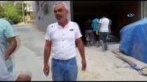 İNŞAAT İŞÇİLERİ - Köpek Havlaması Mahalleli İle İnşaat İşçilerini Birbirine Düşürdü