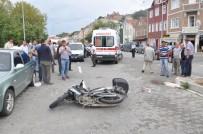 Motosikletin Çarptığı Küçük Kız Yaralandı