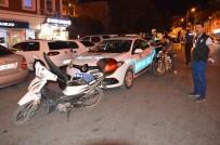 Niksar'da Polis, Motosikletleri Denetledi